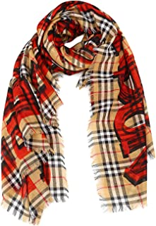 Best burberry scarf red plaid Reviews