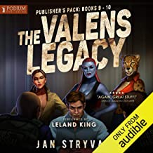 The Valens Legacy, Publisher's Pack 5: Book 9-10