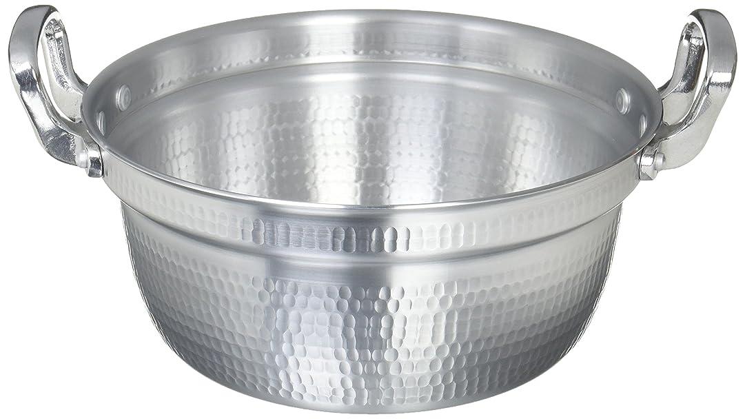 食事ゴルフ失効アカオアルミ DON打出円付鍋 27cm アルミニウム合金、ハンドル(アルミダイキャスト) 日本 AEV02027