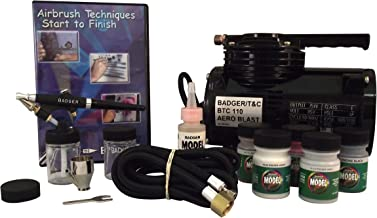 Badger Air-Brush Co. 314-HSWC Hobby Starter System with Compressor