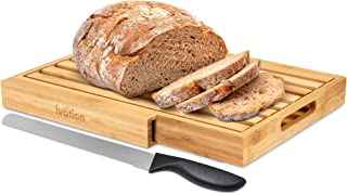 """Ivation Bread Cutting Board 