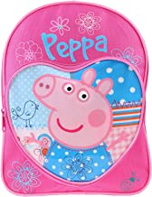 Peppa Pig Mochila amor corazón de los niños mochila junior Mochila Escolar, diseño de rosa, color azul