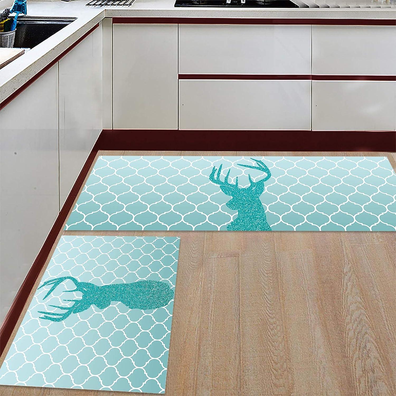 Kitchen Rug Set 2 Pieces Non Sale special price Christ Slip Mat Phoenix Mall Floor Merry