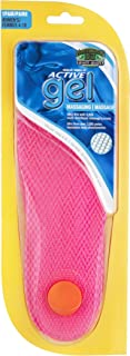 Women's Active Gel Massaging Insole One Size, Pink