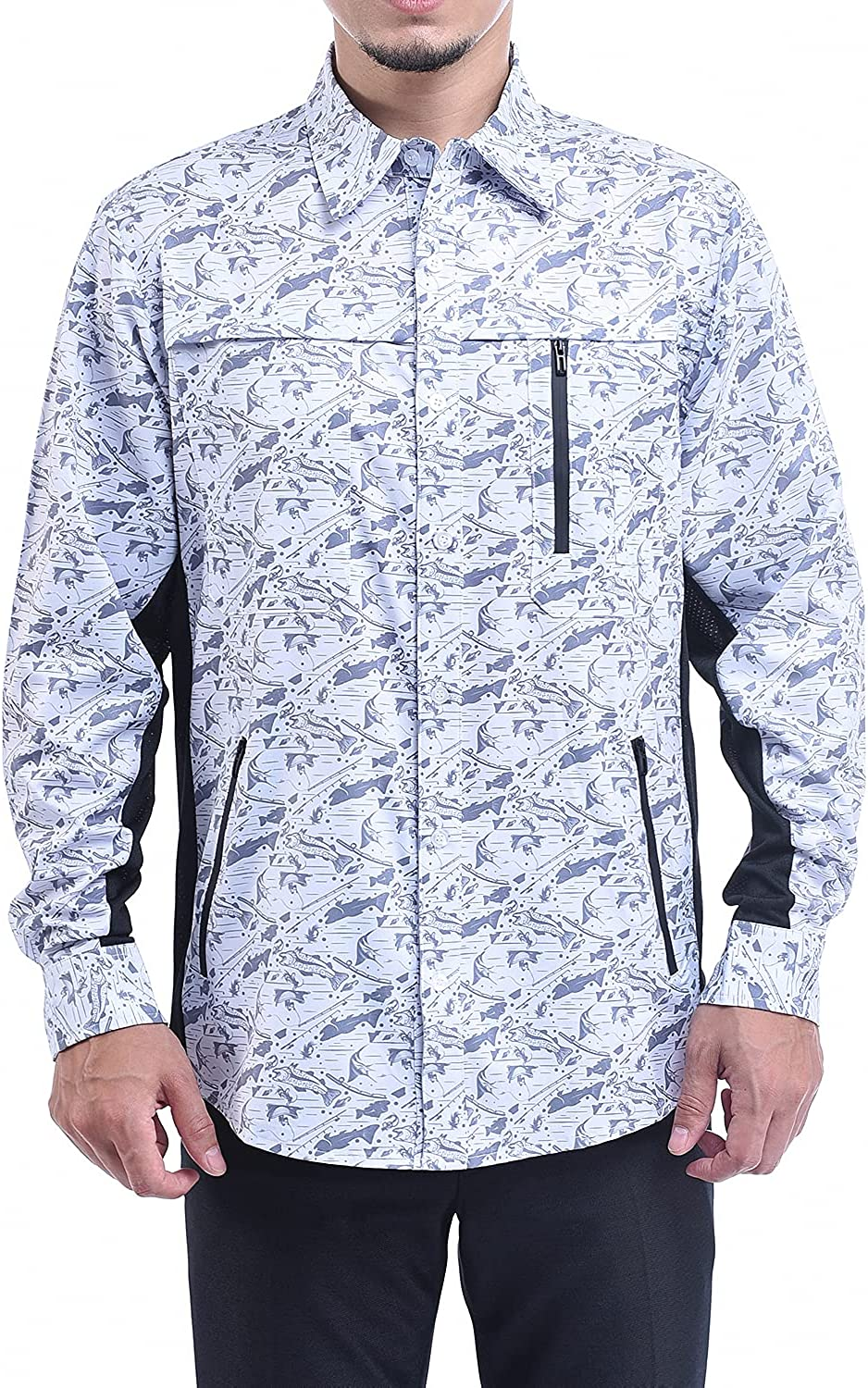 KOOFIN GEAR Men's Performance Fishing Outdoor Vented Recre Limited Special Wholesale Price Shirt