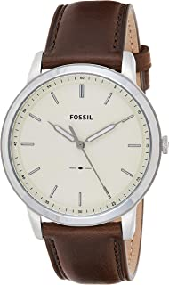 Men's Minimalist Stainless Steel Slim Casual Quartz Watch
