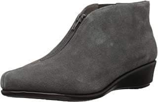 Aerosoles Women's Allowance Ankle Boot, dark gray suede, 5.5 M US