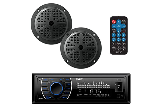 Best marine am fm cd radios for boats   Amazon com