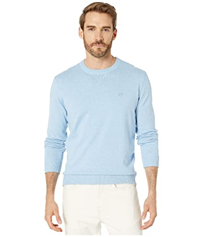 Southern Tide Pacific Highway Crew Neck Sweater (Sistine Blue) Men