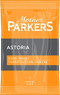Mother Parkers Astoria, Dark Roast, Ground Coffee Fractional Pack, 2 Oz (64 Count)