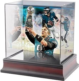 Sponsored Ad - Nick Foles Philadelphia Eagles Super Bowl LII Champions Deluxe Mini Helmet Case - Football Mini Helmet Free...