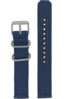Original Nylon Blue Watch Band 18 millimeters- Model SNK807