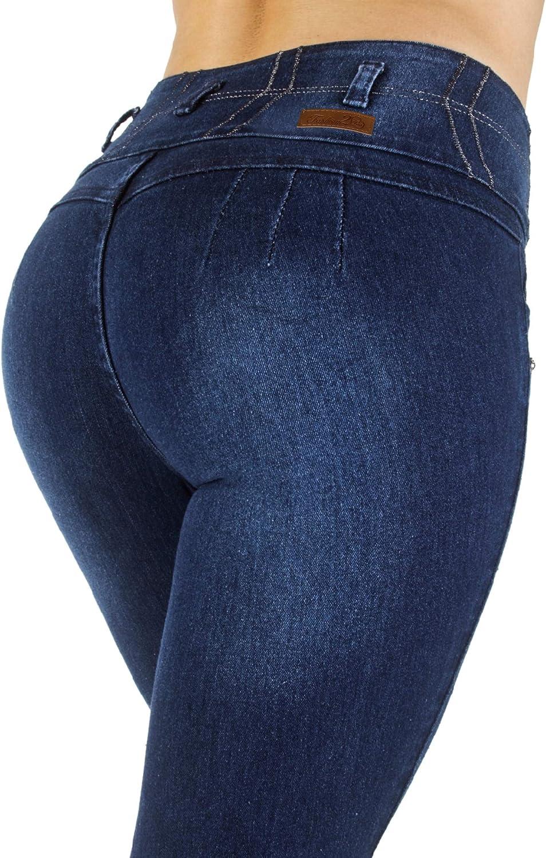 Colombian Design Plus Junior Size, High Waist, Butt Lift, Skinny Jeans