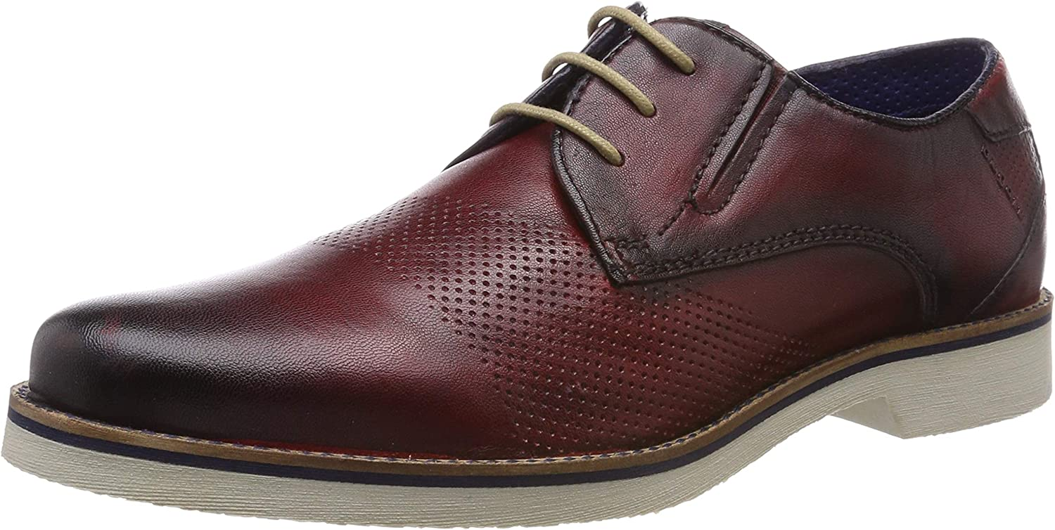 Bugatti Men Lace-Up shoes red 312416034100-3000