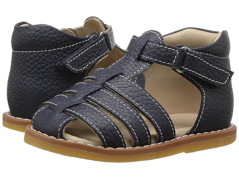 Elephantito Presley Sandal (Toddler) (Navy) Boys Shoes