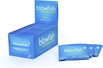 Blowfish for Hangovers - 25 Single Packs - FDA-Recognized Formulation - Guaranteed To Relieve Hangover Symptoms Fast