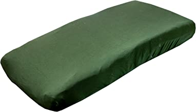 Jade Green Changing Pad Cover