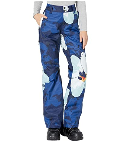 The North Face Sally Pants (Flag Blue Rom Print) Women