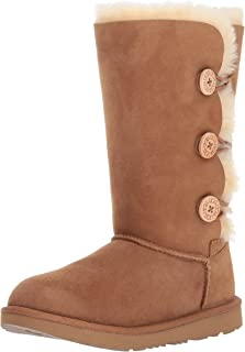 UGG Kids K Bailey Button Triplet II Pull-on Boot