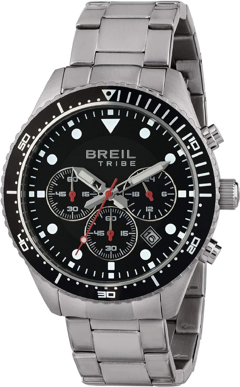Reloj BREIL para Hombre Modelo Sail con Pulsera Acero, Movimiento CRONO Cuarzo