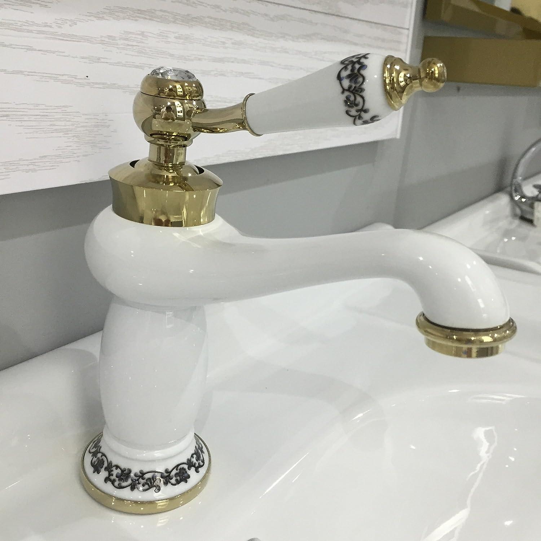 Lvsede Bad Wasserhahn Design Küchenarmatur Niederdruck Badezimmer Hochwertigem Kupfer-Material Doppel-Elektroheizung L6765
