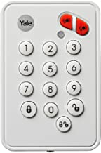 Yale EF-KP Easy Fit Alarm Remote Keypad, White, DIY Friendly, Accessory for SR & EF Alarms