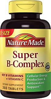 Nature Made Super-B Complex 360 Tablets