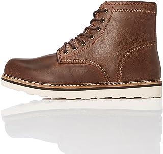 Marque Amazon - find. Leather Apron, Bottes Chukka homme