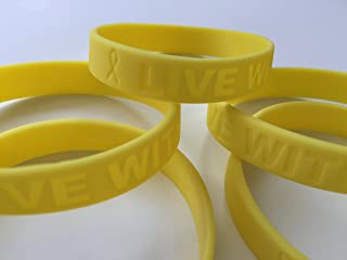 5 Pack Silicone Bracelet Wristbands