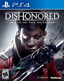 Bethesda Dishonored Death Of The Outsider Playstation 4 Standard Edition One Size red