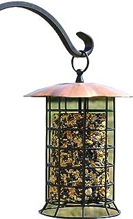 suet log bird feeder