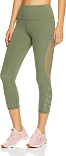 Lorna Jane Women's Sienna Core 7/8 Tight, Light Khaki