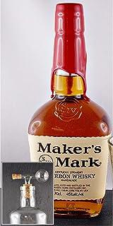 """Maker""""s Mark Red Seal Bourbon Whisky  1 Glaskugelportionierer"""