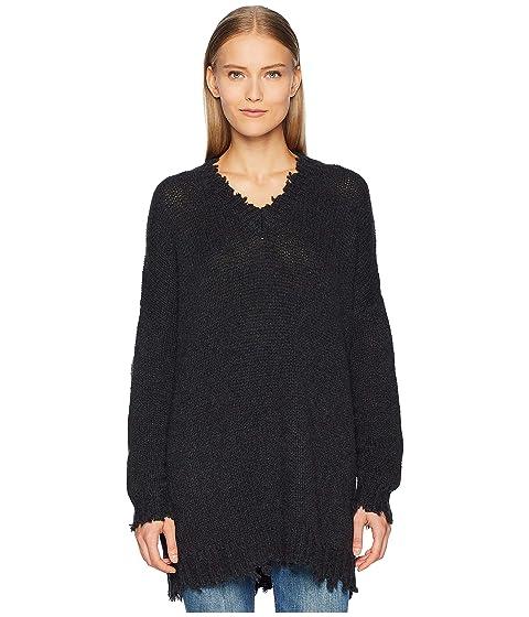 R13 Boyfriend V-Neck Cashmere Sweater