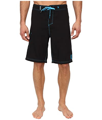 Hurley One Only Boardshort 22 (Black Cyan) Men