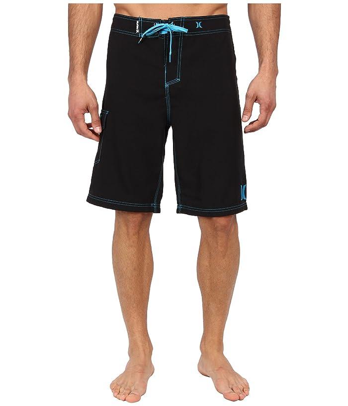 Hurley One Only Boardshort 22 (Black Cyan) Men