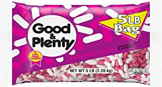 GOOD & PLENTY Licorice Flavored Candy, Easter, 80 oz Bulk Bag