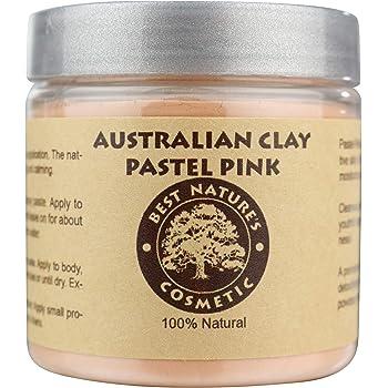Australian Pastel Pink Clay 100% Pure Natural   Pink Facial Clay   Australian Pink Clay Mask 8 oz / 240 ml