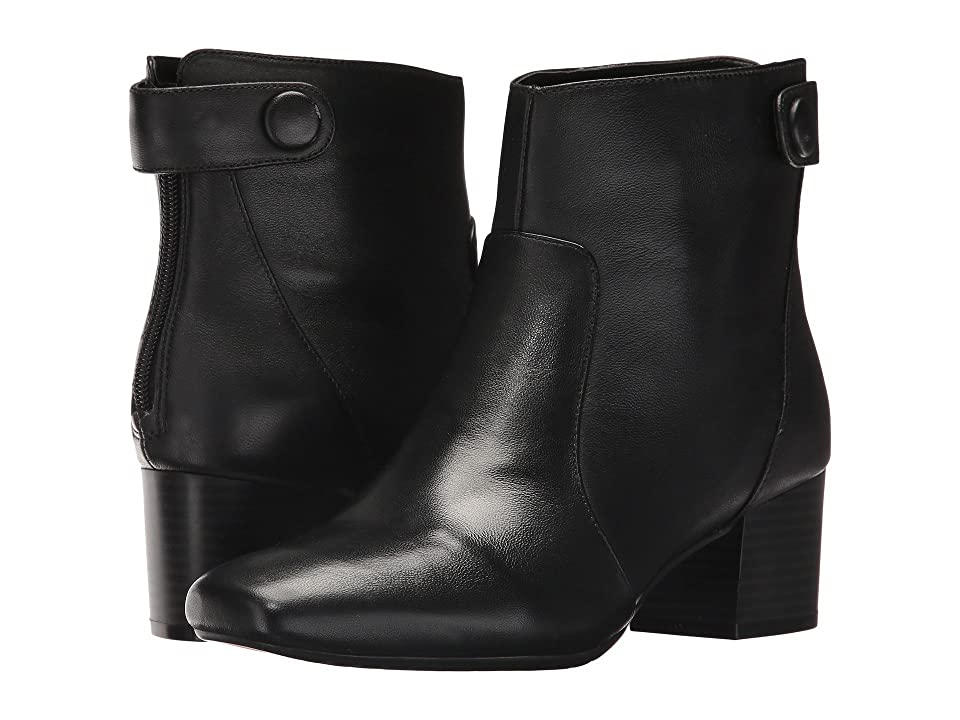 Bandolino Fauna (Black Leather) Women