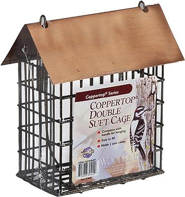 Woodlink DCOPSUET Coppertop Double Suet Cage Feeder