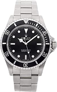 Rolex Submariner Mechanical (Automatic) Black Dial Mens Watch 14060 (Certified Pre-Owned)