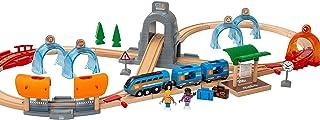 BRIO World 33972 Smart Tech Sound Action-tunnel Travel set. Interaktivt leksakstågset. 37 delar. För barn från 3 år. För t...