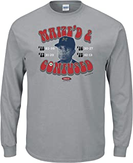 Smack Apparel Ohio State Football Fans. Maize'd & Confused Grey T-Shirt (Sm-5X)