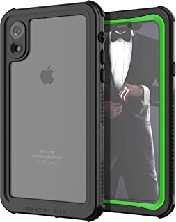 Ghostek Nautical Waterproof Heavy Duty Protection Case Designed for iPhone XR - Green