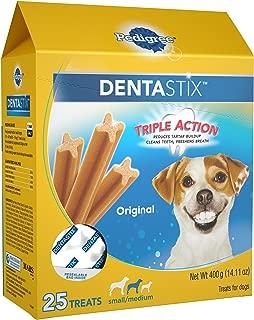 Pedigree Dentastix Grain Free Mini Dental Treats for Small Breed Dogs