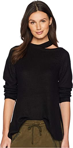 Dusk Til Dawn Shoulder Cut Out Sweater