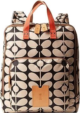Sixties Stem Nylon Luggage Large Rucksack