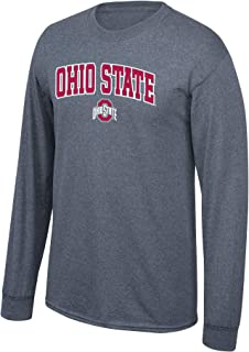 Elite Fan Shop NCAA Long Sleeve Shirt Dark Heather Arch