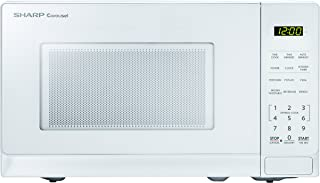 sharp smc0710bb bw microwave oven