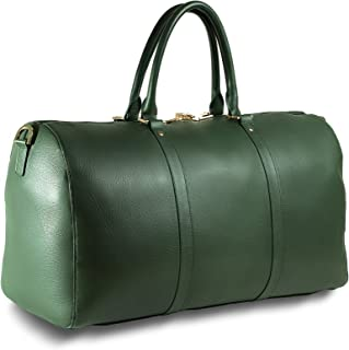 Francis Travel Bag Number 4 - 100% leather weekender, duffle, cabin luggage